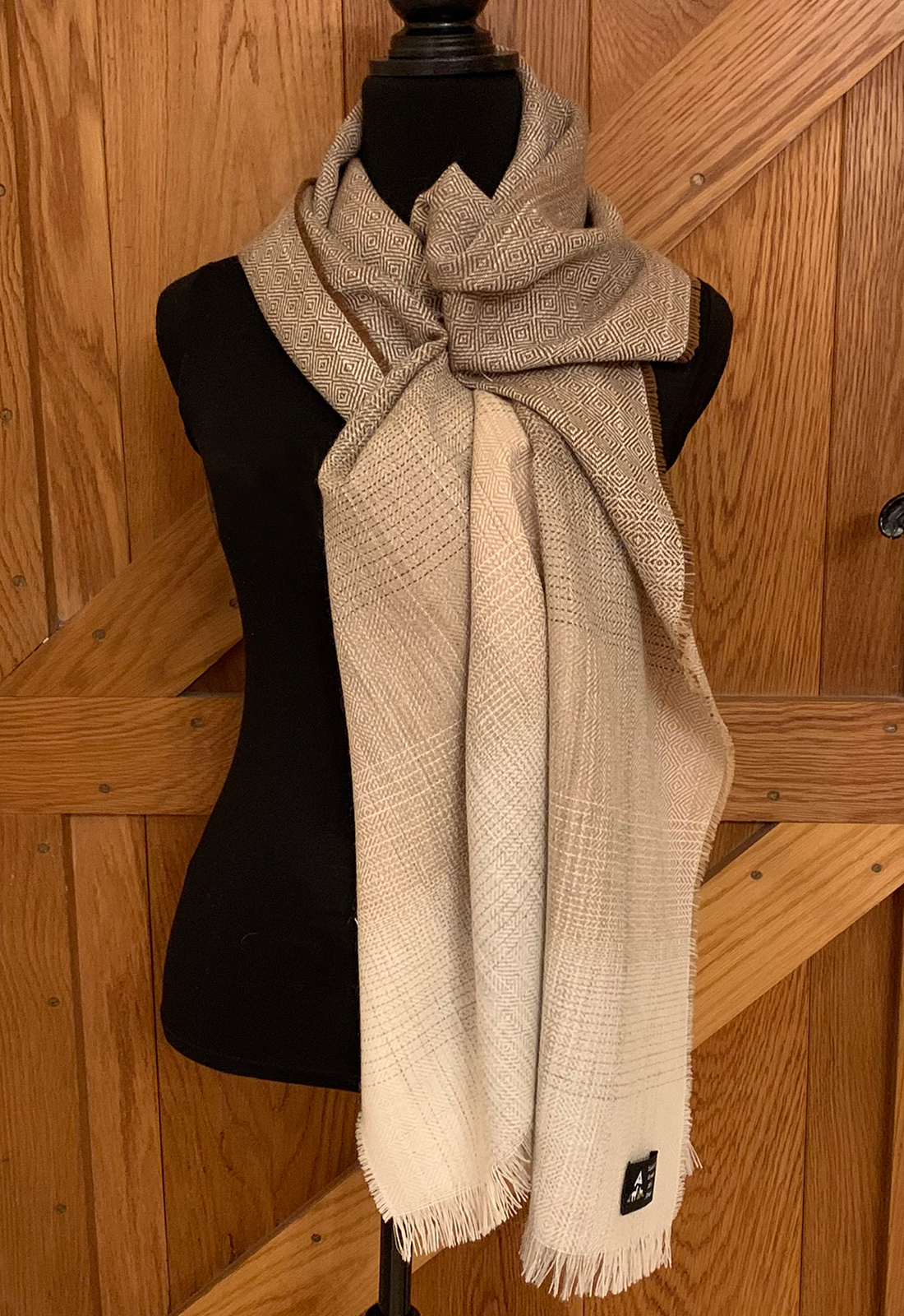 Fawn And Brown Colourway Scarves