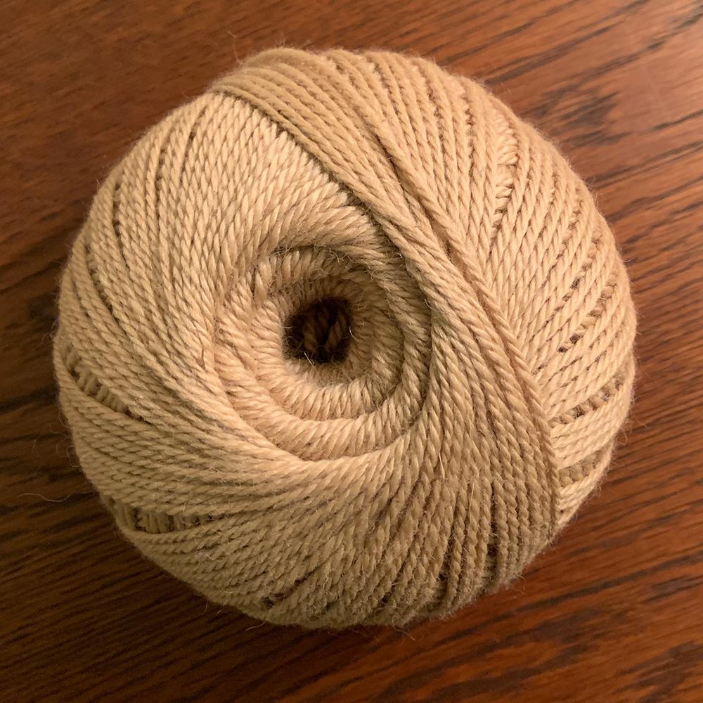 Light Caramel Fawn alpaca yarn
