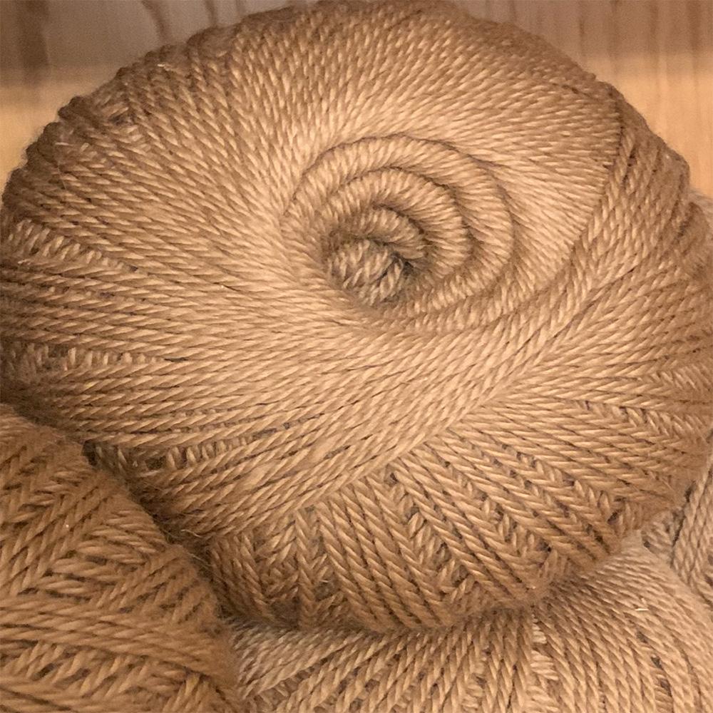 Fawn 100% pure alpaca wool