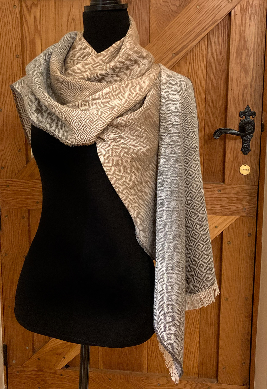 Fawn And Grey Colourway Scarves 3