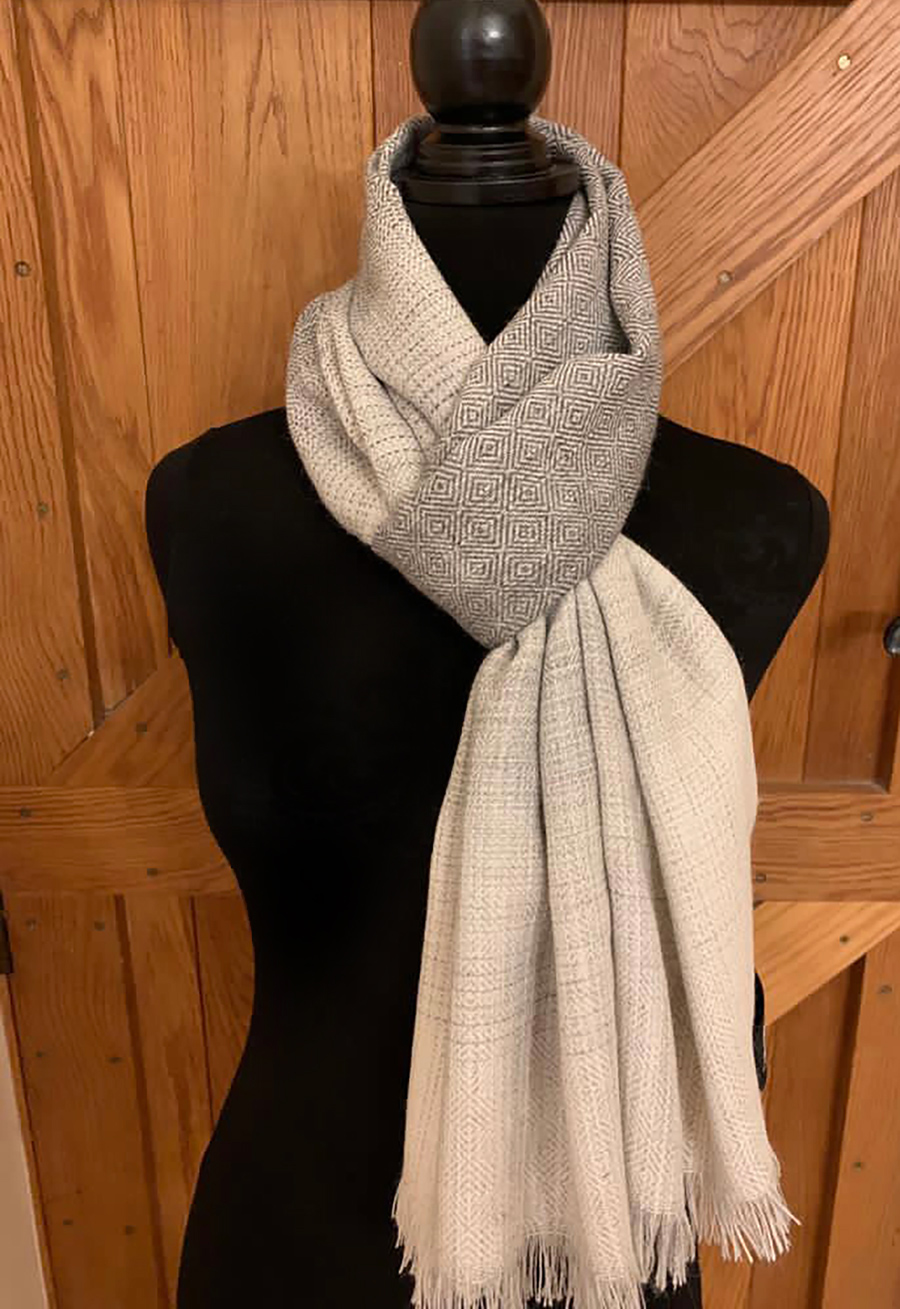 Grey Colourway Scarves 1