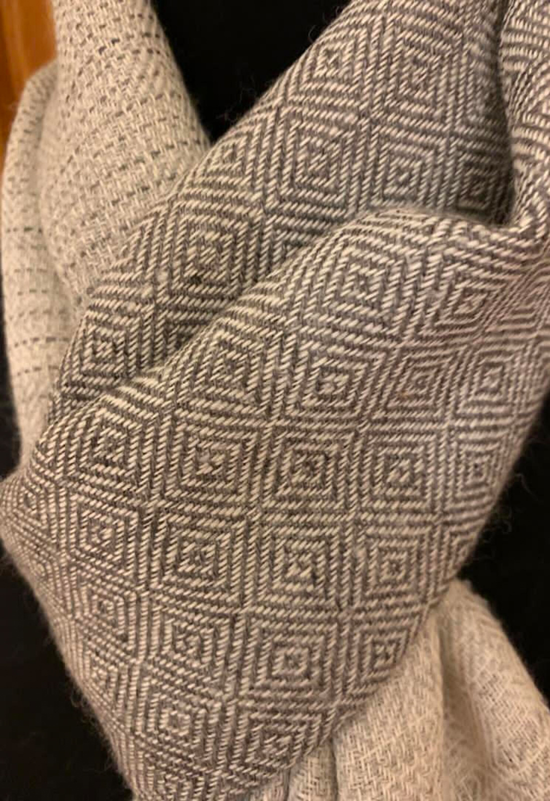 Grey Colourway Scarves 2